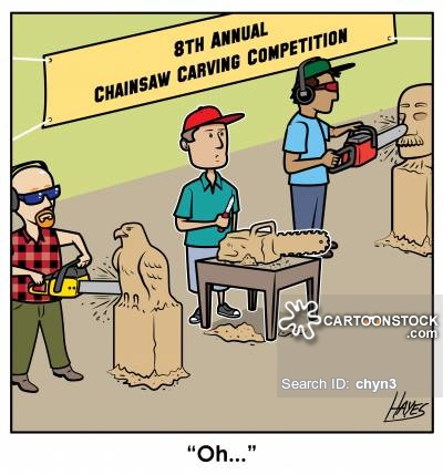 8th Annual Chainsaw Carving Competition - DicksWood